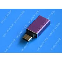 MacBook Nexus 5X / 6P Type C Micro USB Purple Metal USB C to USB A 3.0 Manufactures