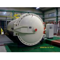 Steam Brick Industrial Autoclave Pressure Φ3m For Glass Deep - Processing Manufactures