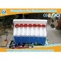 China 6mL*2.5mW*4mH  Basketball Inflatable Sport Games , Inflatable Shooting Score for fun on sale