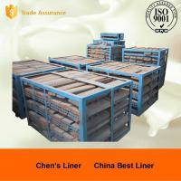 Custom Mill Liners Pearlitic Cr-Mo Steel End Liners Dia 4m Hardness More than HRC33-43 Manufactures
