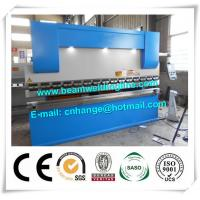 NC Hydraulic Press Brake And Bending Machine 80T , Metal Sheet Brake Press Machine Manufactures
