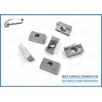 China Indexable Turning Cemented Square Carbide Inserts For Aluminum Processing on sale