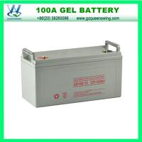 China QueensWing 12V 100A Maintain Free GEL Solar Battery(QW-BG100A) on sale