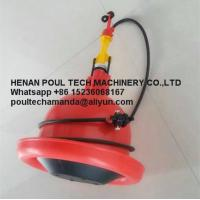 Quality Plastic Red Orange Automatic Plasson Chicken Drinker for Poultry Farm for Chicken Deep Litter System for sale