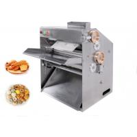 Stainless Steel Pizza Dough Pressing Machine 	Food Processing Equipments 220v 400W Manufactures