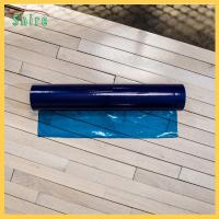 Customised Self Adhesive Floor Protection Film Blue Color No Bubble Manufactures