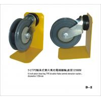 125 mm Plain Bearing TPE Trolley Castor Wheels Heavy Duty With Auto Brake Manufactures