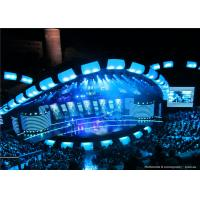 Vivid Color Stage Background Outdoor SMD Led Screen P10 With brightness >8000cd/㎡ Manufactures