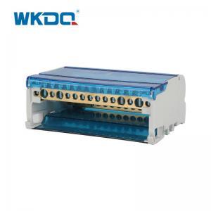 UK 415 Power Distribution Terminal Block , Small Screw Terminal Block Manufactures