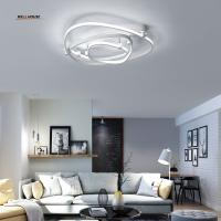 Buy cheap Acrylic Aluminum Modern Led ceiling lights for living room bedroom AC85-265V White Ceiling Lamp Fixtures from wholesalers
