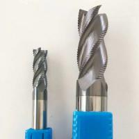1- 4 Flute Carbide End Mill , HRC 60/65/68 Milling Cutters End Mill For Stainless Steel Manufactures