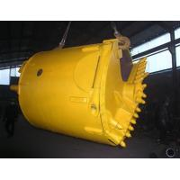 Rock Foundation Drilling Tools / Lat Drilling Bucket For Bored Pile Manufactures