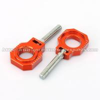 Quality Ktm 250 Sx MX Bling Kit / Spare Parts , Bolt Chain Adjuster Blocks for sale