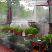 8LPM new high pressure fog machine pump for mist cooling system Manufactures