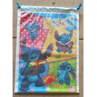 Customized Printed Plastic Drawstring Bag/Children are very fond of cartoon bags Manufactures