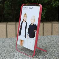 clear acrylic pink side paperweight photo frame Manufactures