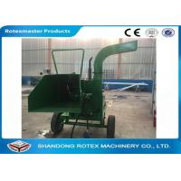 40 HP Mobile Tractor Driven Wood Chipper for Small Forest Branch Manufactures
