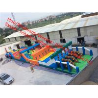 inflatable obstacle course giant inflatable amusment park Manufactures