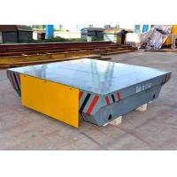 China Remote control motorized railway transfer car battery powered for heavy industry on sale