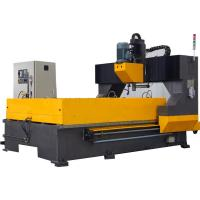 High Precision Metal Plate CNC Flange Drilling Machine For Steel Structure Fabrication Manufactures