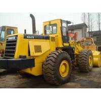 4.2m3 Bucket Second Hand Wheel Loaders , Komatsu WA470 Front Wheel Loader Manufactures