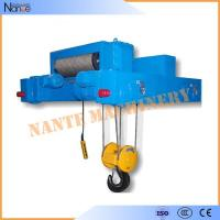 Industrial 40 Ton / 80 Ton Heavy Duty Rope Hoist Double Girder Winch Trolley Manufactures