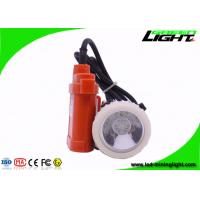 Buy cheap GJ3.5-A Rechargeable LED Headlamp for Mining ,  3.5 Ah Ni-MH Battery Old Style Miner Hat Light from wholesalers