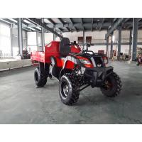 Red One Seat 200CC GY6 4x4 Utility ATV FAMER Tractor , Tipping Quad Manufactures