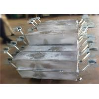 Aluminum Anodes for offshore project Hull Ballast tanks Harbor Structure Manufactures
