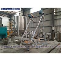 3M Height Spiral Flexible Screw Conveyor Stainless Steel Hopper Loader Manufactures