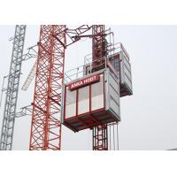 Industrial Construction Hoist SC200 / 200GZ , CE Approved Building Hoist Manufactures