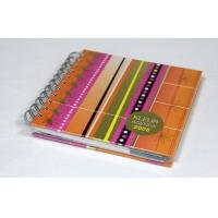 CMYK Full Color Custom Spiral Notebook Printing Service With Elastic Binding Manufactures