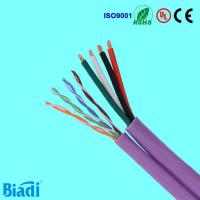 UTP siamese cable cat5e cat6 lan cable with power Manufactures