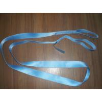 Green 1200kg Polyester Endless Slings , Flat Single Use Lifting Slings Manufactures