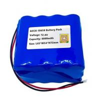 12.6V 8Ah rechargeable li-ion battery pack for sweeper machine with high cycel