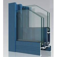 Powder Painted 6063-T5 Aluminum Window Extrusion Profiles With  tapping Manufactures