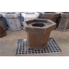 Cement Kiln Refractory Bricks , Al2O3 60% Heat Resistant Silica Mullite Brick Manufactures