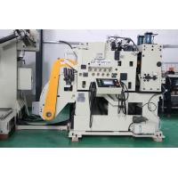 Touch Screen Punching  Press Decoiler Straightener Feeder With Pneumatic Pressing Arm Manufactures