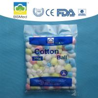 0.3g - 9g First Aid Cotton Balls , White / Pink Medical Cotton Balls Manufactures