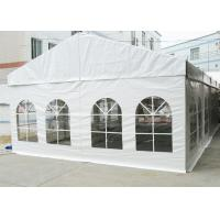 High Reinforced Aluminum Outdoor Event Tent 6M Flame Retardant With PVC Cover Manufactures