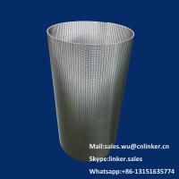China Wedge Wire Screen element,20 micro Filter Element on sale