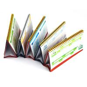 2015 lenticular customized spiral 3d desk calendar with notepad Manufactures