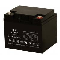 40AH 12v Sealed Lead Acid Batteries ,  Solar Wind Energy Storage Battery Manufactures