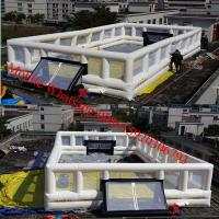 new inflatable soccer field for sale inflatable water soccer field Manufactures