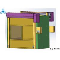 Cold Rolled Steel Cleanroom Air Shower , Air Shower Room With High Speed Shutter Doors Manufactures