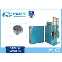 Auto Parts Welding Machine for Nuts on Air Tank Cover / Automobile Gasholder End Cover Manufactures