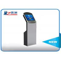 Free stand social media lobby kiosk for ticketing dispenser and payment Manufactures