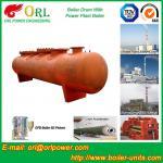 SA516GR70 Steel steam boiler mud drum ASME Manufactures