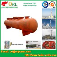 Quality SA516GR70 Steel Boiler Mud Drum / Steam Drum With Excellent Performance for sale