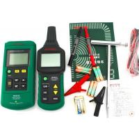 Auto Ranging Underground Cable Detector , Advanced Wire Tracer With Transmitter Manufactures